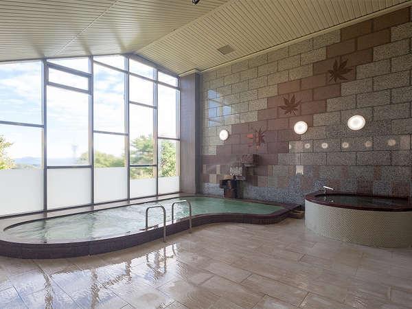 【リニューアル】女湯大浴場 洗い場が増設されました。床もリニューアル!人工セラミック温泉になります。
