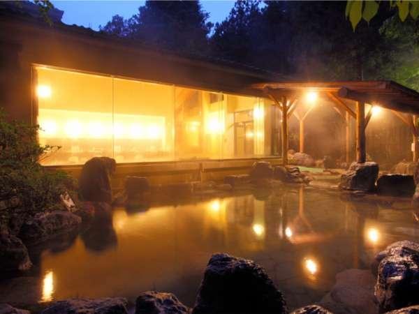 5F「杜の湯」は一番、広々とお入り頂けるお風呂でございます。