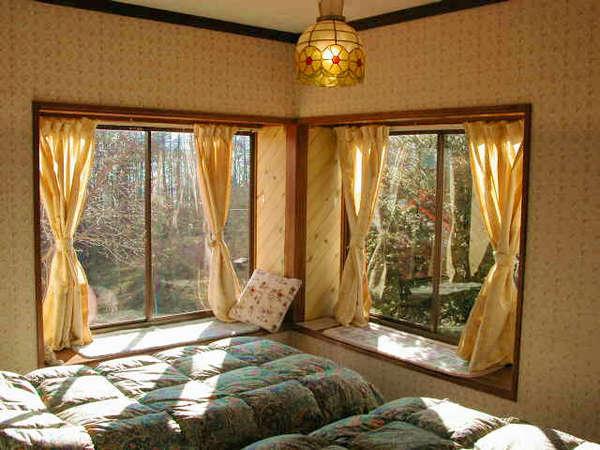 富士山の見えるツインルーム【客室一例】