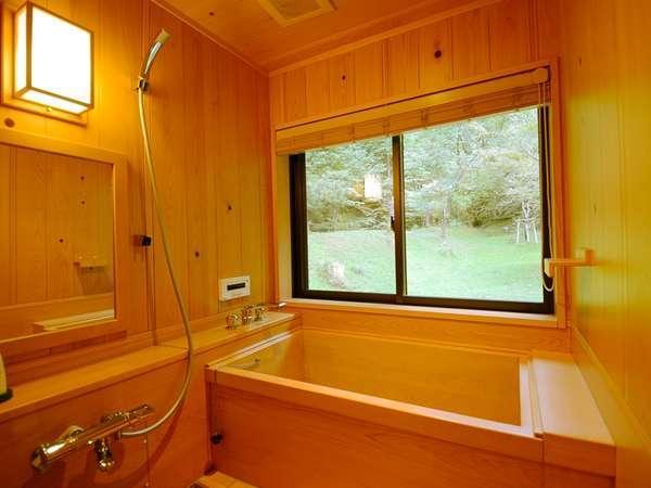 金松専用檜風呂