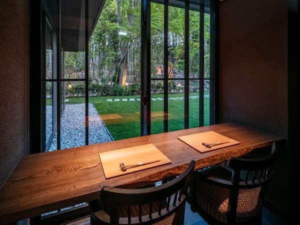 日本料理「滴翠」個室カウンター席