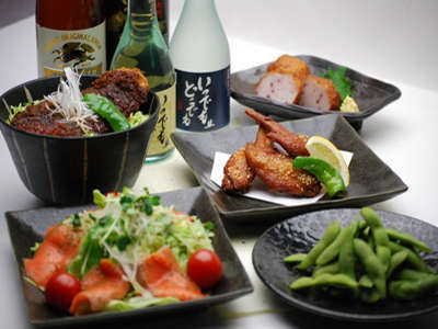 ◆夕食レストラン花々亭◆18:00~22:00(LO 21:30)