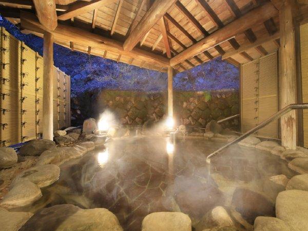 【女性大浴場】しっとり愉しむ露天風呂もご用意
