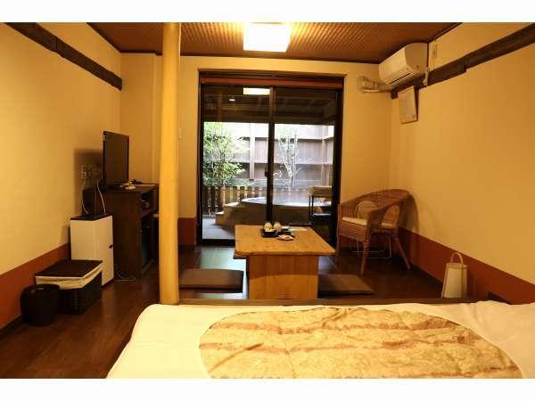 101号室みずがめ座の客室。※お部屋の1例です。