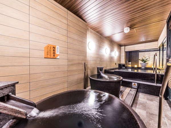 男性大浴場(外湯)