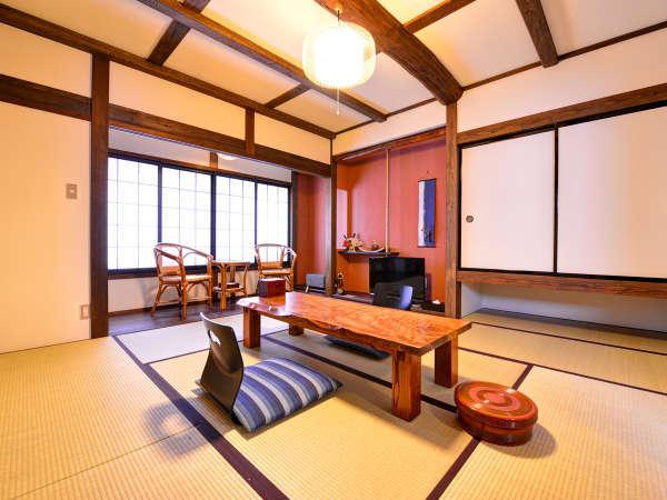 *蛍ぶくろ(客室一例)/和室2間とロフトが付いた少し豪華な造りの客室。しっとりと大人な休日をどうぞ。