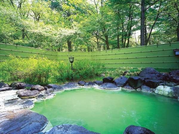 露天風呂「森の精」