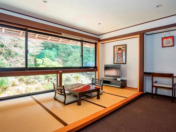 【桔梗(ききょう)】特別室:和洋室一例