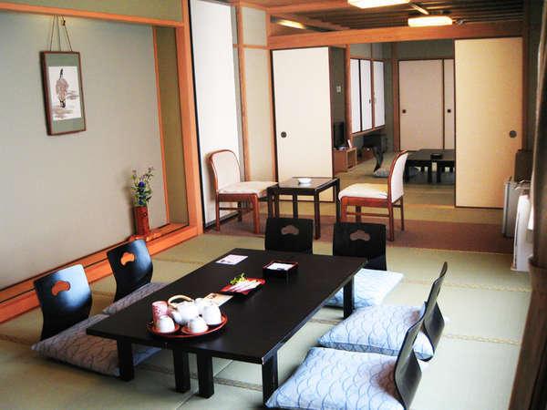 2部屋コネクティングタイプ和室