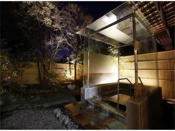 東棟1階『煌輝・ガラスの湯』・夜景