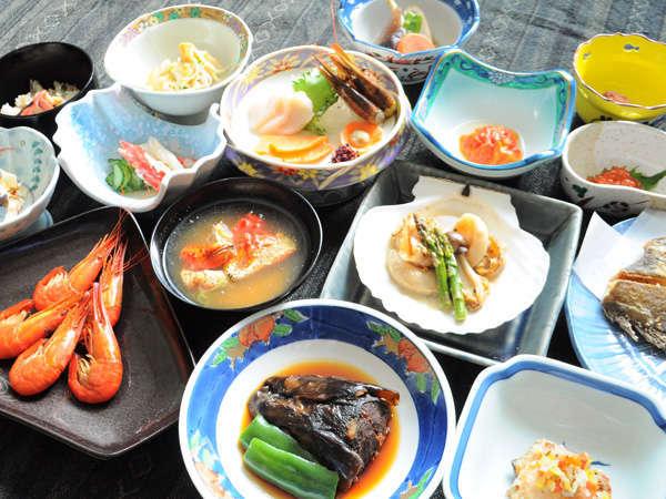 【楠 旅館】◆尾岱沼の新鮮な魚介類をふんだんに使った手作り料理が評判の宿◆