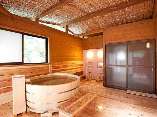 【305号室】専用檜風呂付コテージ