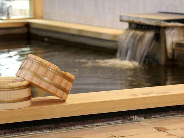 二本木温泉を使用した大浴場