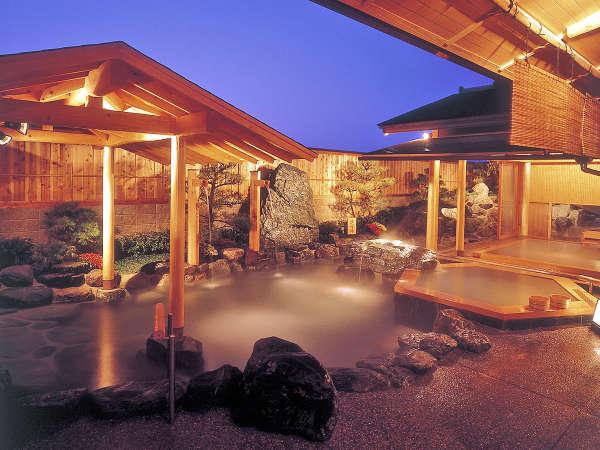 【姉妹館・福寿荘】人気の庭園露天風呂も入浴無料♪(当館より徒歩5分)