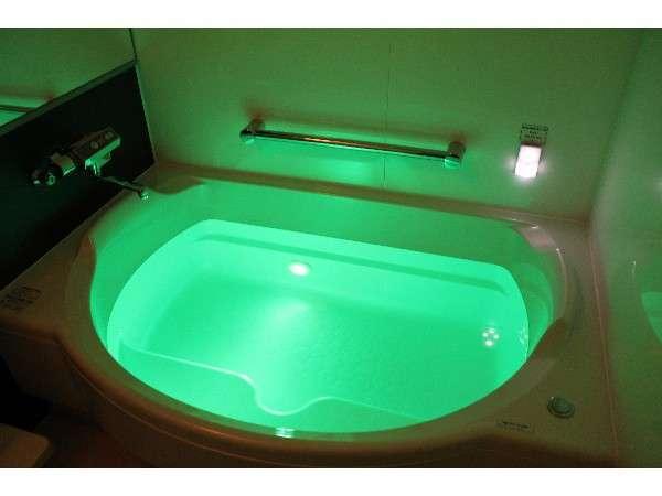 (例)VIPルーム・リニューアル 風呂10色に変わります♪