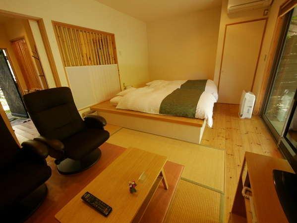お部屋【タイプA】和を基調にデザインされたお部屋です。喧騒を離れ、静かなひとときを。