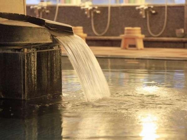 泉質は塩化物泉で関節痛や筋肉痛や疲労回復などに効能があります