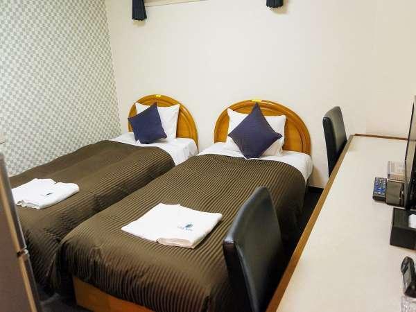 ◆ツインルーム◆シングルベッド2台