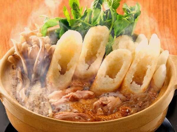 【きりたんぽイメージ】秋田郷土料理の代表、きりたんぽ
