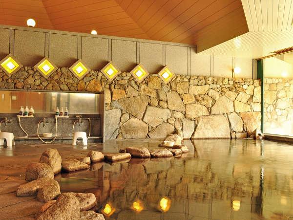 【大浴場】美肌効果の高いトロトロの天然温泉です