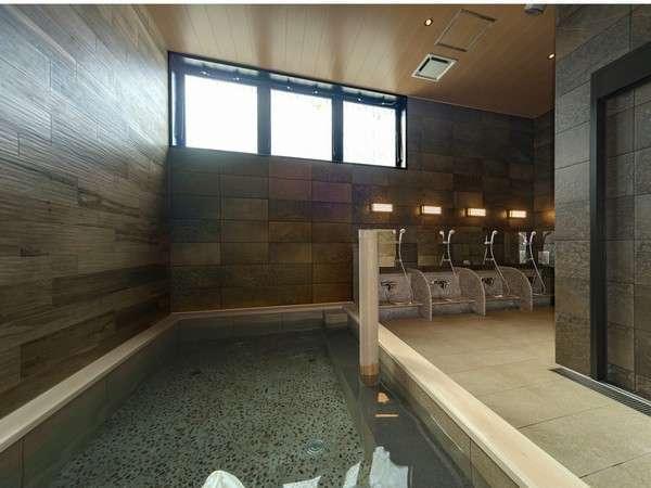 1階 準天然 光明石温泉(大浴場)
