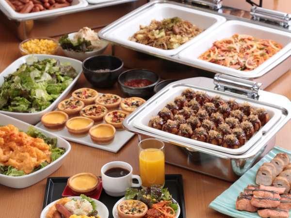 ■和洋17種類の朝食バイキング
