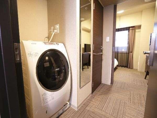 ◆ウィークリールーム 長期滞在の方にオススメ♪部屋に洗濯機完備!