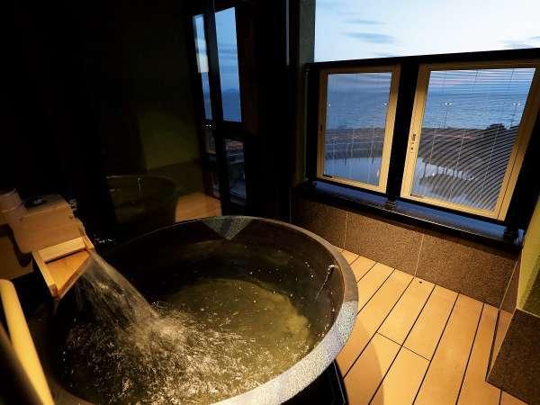 【客室露天風呂】5階デラックスルーム 露天風呂