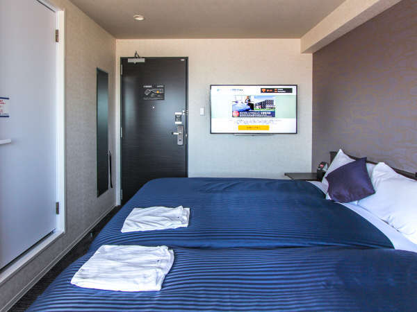 ◆ツインルーム◆全室スランバーランドベッドを完備しております