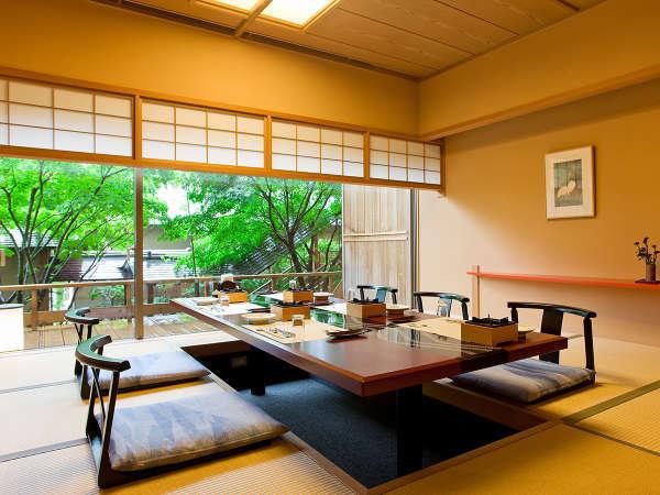 【汽水亭個室】個室でゆったりとお食事を楽しむ