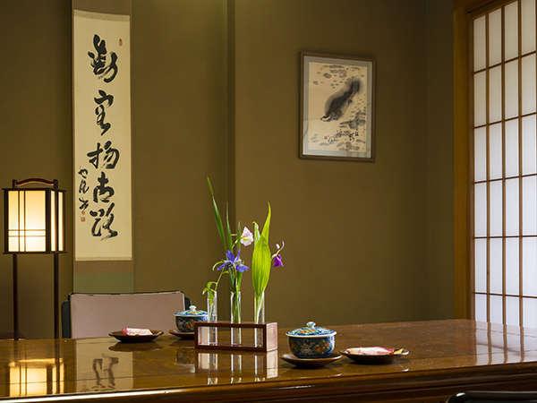 和室でのんびりと静かなひと時をお過ごしください。