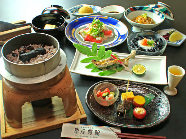 熊野の恵みをいただく。亀屋は「薬食同源」を美味しく実践いたしました♪