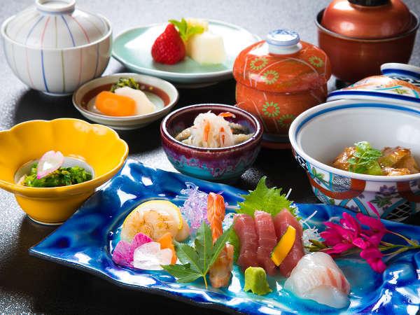 【日本料理・れいめい庵】刺身御膳一例