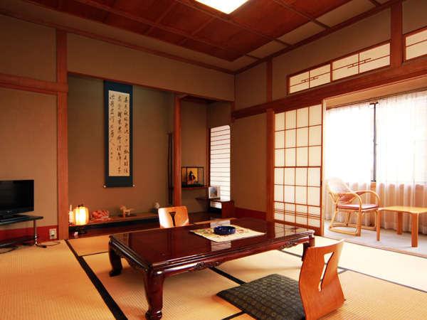 木造数寄屋造り和室10畳 洗面付きのお部屋タイプ