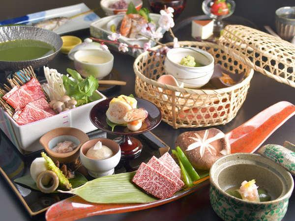 デラックス会席/春夕食一例