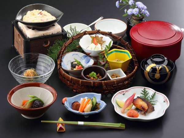 -朝食一例- 朝は身体に優しい和食をご用意いたします。