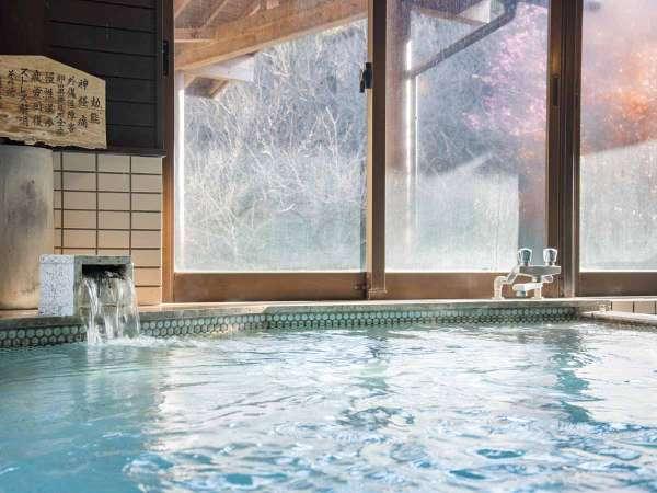 *【風呂(白梅の湯A内湯)】神経痛、疲労回復、外傷などに効果があります。