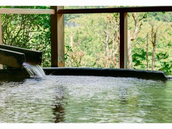 銀領 露天風呂