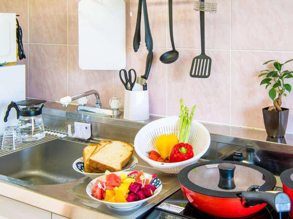 *[1・2階]客室一例/食材だけ揃えればお部屋で本格的なお料理が可能♪
