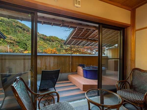 *【露天風呂付き客室】24時間いつでも温泉を独り占めでご満喫いただけます