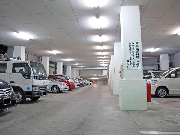当ホテルの駐車場は先着順です。満車の場合、お近くのコインパーキングをご案内致します。