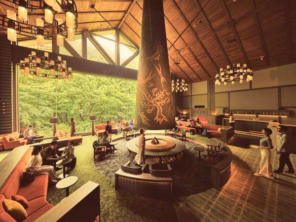 【星野リゾート 奥入瀬渓流ホテル】国立公園内にある奥入瀬渓流沿いに佇む、国内唯一のリゾートホテル