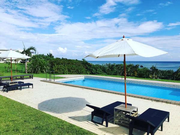 西表島では数少ないプールのあるホテルです。(6月から9月)