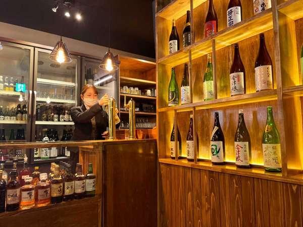 【ダイニング會-KAI-】お酒を心ゆくまでお楽しみいただける空間となっています。