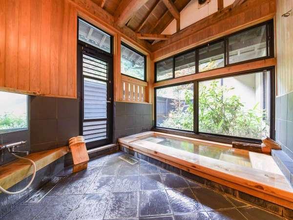 *[離れ専用内風呂]優しい肌触りが自慢。離れ客室専用なのでお好きな時にお好きなだけご入浴いただけます。