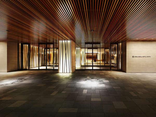 【エントランス】京の風情と現代的なデザインを散りばめたエントランス