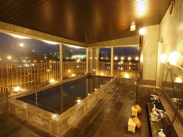 【男性用内湯】松江の夜景を眺めながらのんびり疲れをいやしてくださいませ♪