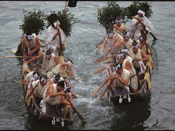 【諸手船神事】12月3日に開催される国譲り神話にちなんだ神事は必見!