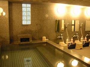 男性専用大浴場が大人気