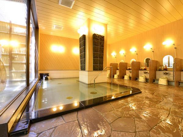 *【中浴場】手すりが付いているので、お年寄りの方にも安心です。